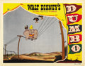 "Movie Posters:Animated, Dumbo (RKO, 1941). Lobby Card (11"" X 14""). ..."