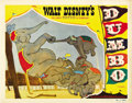 "Movie Posters:Animated, Dumbo (RKO, 1941). Lobby Cards (2) (11"" X 14""). ... (Total: 2 Items)"