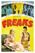 "Movie Posters:Horror, Freaks (MGM, R-1949). One Sheet (27"" X 41""). ..."