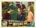 "Movie Posters:Horror, The Invisible Ray (Universal, 1935). Lobby Card (11"" X 14""). ..."