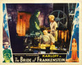 "Movie Posters:Horror, The Bride of Frankenstein (Universal, 1935). Lobby Card (11"" X14""). ..."
