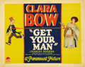 "Movie Posters:Romance, Get Your Man (Paramount, 1927). Title Lobby Card (11"" X 14""). ..."