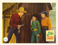 "Movie Posters:Western, The Old Corral (Republic, 1936). Lobby Card (11"" X 14""). ..."