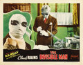 """Movie Posters:Horror, The Invisible Man (Realart, R-1951). Lobby Card (11"""" X 14""""). ..."""