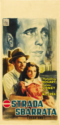 "Movie Posters:Crime, Dead End (United Artists, Post War 1946). Italian Locandina (13"" X27""). ..."