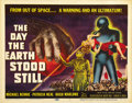 "Movie Posters:Science Fiction, The Day the Earth Stood Still (20th Century Fox, 1951). Title LobbyCard (11"" X 14""). ..."