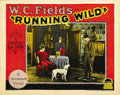 "Movie Posters:Comedy, Running Wild (Paramount, 1927). Lobby Card (11"" X 14""). ..."