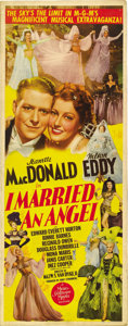 "Movie Posters:Musical, I Married an Angel (MGM, 1942). Insert (14"" X 36""). ..."