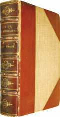 Books:First Editions, Mark Twain: Life on the Mississippi (Boston: James R. Osgoodand Company, 1883), first edition, intermediate issue (the ...(Total: 1 Item)