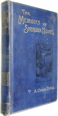 Books:First Editions, Arthur Conan Doyle: The Memoirs of Sherlock Holmes (London:George Newnes, Limited, 1894), first edition, 279 pages, blu...(Total: 1 Item)