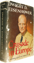 Books:Signed Editions, Dwight D. Eisenhower: Signed First Edition of Crusade in Europe (Garden City, New York: Doubleday & Company, Inc., 1948)... (Total: 1 Item)