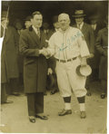Autographs:Photos, Circa 1927 John McGraw Signed Photograph. The third and final autographed photo consigned by the niece of Joe Glassenberg, ...