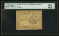 Colonial Notes:Continental Congress Issues, Continental Currency May 20, 1777 $4 PMG Very Fine 25.. ...