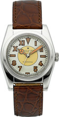 Timepieces:Wristwatch, Rolex Ref. 2940 Steel Bubble Back, circa 1945. ...