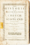 Books:Religion & Theology, John Knowx. David Buchanan, ed. The Historie of the Reformationof the Church of Scotland. London: John Raworth 1644...