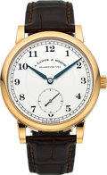 "Timepieces:Wristwatch, A. Lange & Söhne Very Fine Ref. 223.032 ""1815"" Rose GoldWristwatch. ..."