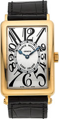 Timepieces:Wristwatch, Franck Muller Long Island Ref. 1000 SC Rose Gold Wristwatch. ...