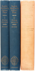 Books:Reference & Bibliography, [Nineteenth-Century English Drama]. Two Books in Three Volumes.Michael R. Booth, editor. English Plays of the Nineteent...(Total: 3 Items)