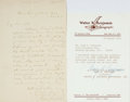 Autographs:Authors, Poet John Greenleaf Whittier Autograph Letter Signed....