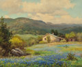 Paintings, ROBERT WILLIAM WOOD (American, 1889-1979). Hill Country, 1943. Oil on canvas. 25 x 30 inches (63.5 x 76.2 cm). Signed an...
