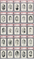 Baseball Cards:Sets, 1906 WG3 Fan Craze National League Playing Cards Complete Set (54)- #1 on the PSA Set Registry! ...
