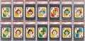 Baseball Cards:Sets, 1951 Topps Red Back Complete Master Set (54) - #8 on the PSA SetRegistry. ...