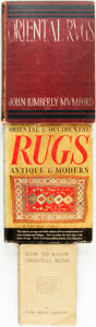 Books:Art & Architecture, [Interior Decorating.] Group of Three Books about Oriental Rugs. Various publishers and dates.... (Total: 3 Items)