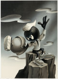 Animation Art:Poster, Marvin Martian Signed Limited Edition Lithograph Print#404/500 (Warner Brothers, 1994)....