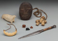 American Indian Art:Pipes, Tools, and Weapons, EIGHT ESKIMO ITEMS. c. 1900... (Total: 8 Items)