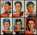 Baseball Cards:Lots, 1953 Topps Baseball Partial Set (122/274). ...
