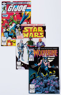 Marvel Modern Age Comics Group (Marvel, 1980-88) Condition: Average VF/NM.... (Total: 3 Items)