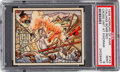Non-Sport Cards:Singles (Pre-1950), 1938 Gum Inc. Horrors of War #143 PSA Mint 9 - Pop One, NoneHigher! ...