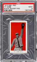 "Baseball Cards:Singles (Pre-1930), 1910 E98 ""Set of 30"" Ty Cobb - Red ""Black Swamp Find"" PSA Mint 9...."