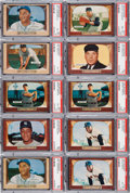 Baseball Cards:Lots, 1955 Bowman Baseball Shoebox Collection (1,000+). ...