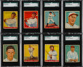 Baseball Cards:Lots, 1933 Goudey Baseball Collection (117) With Ruth & Gehrig. ...