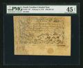 Colonial Notes:South Carolina, Jumbo Margins South Carolina February 8, 1779 $50 PMG ChoiceExtremely Fine 45 Net.. ...
