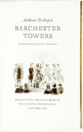 Books:Literature Pre-1900, Fritz Kredel, illustrations. SIGNED/LIMITED. Anthony Trollope.Barchester Towers. New York: The Limited Editions...