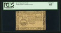 Colonial Notes:South Carolina, South Carolina December 23, 1776 $3 PCGS Choice New 63.. ...
