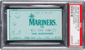 Baseball Collectibles:Tickets, 1995 Derek Jeter Major League Debut Ticket Stub, PSA VG 3....