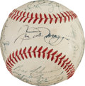 Baseball Collectibles:Balls, 1949 New York Yankees Team Signed Baseball....
