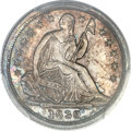 Proof Seated Half Dimes, 1839 H10C No Drapery PR65 Cameo PCGS Secure. V-2, High R.7 as a proof....