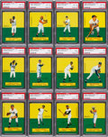 Baseball Cards:Sets, 1964 Topps Stand-up Baseball Complete Set (77). ...