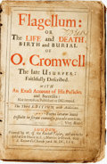 Books:Biography & Memoir, Thomas Heath. Flagellum: or, The Life and Death, Birth andBurial of O. Cromwell the late Usurper: FaithfullyDescribed....