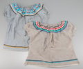 American Indian Art:War Shirts/Garments, TWO SEMINOLE BLOUSES...