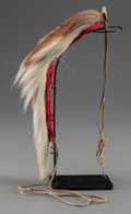 American Indian Art:Pipes, Tools, and Weapons, AN UNUSUAL PLAINS HAIR ROACH...