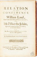 Books:Religion & Theology, [Religion & Theology]. A Relation of the Conference Between William Laud, Late Lord Arch-bishop of Canterbury, and Mr. F...