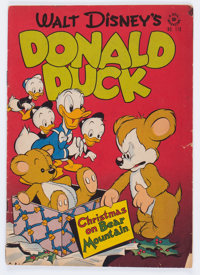 Four Color #178 Donald Duck (Dell, 1947) Condition: GD/VG