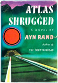 Books:Literature 1900-up, Ayn Rand. Atlas Shrugged. New York: Random House, [1957].First Printing....
