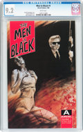 Modern Age (1980-Present):Miscellaneous, The Men In Black #1 (Aircel, 1990) CGC NM- 9.2 White pages....