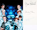 Books:Prints & Leaves, [Lost in Space.] June Lockhart, Jonathan Harris, and BillyMumy Autographs. ...